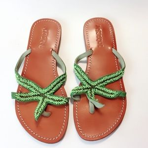 Mystique Gorgeous Beaded Star Sandals